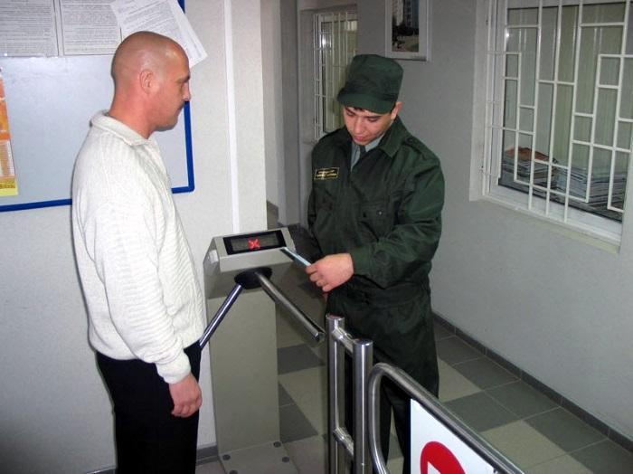 КПП и охрана