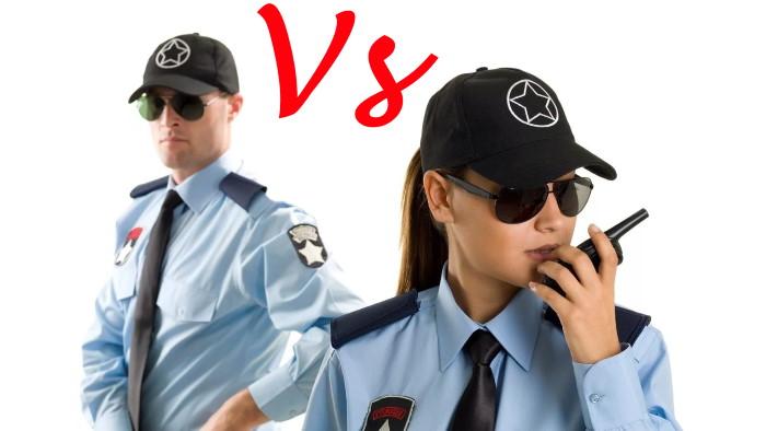 Физическая охрана. Мужчина или женщина