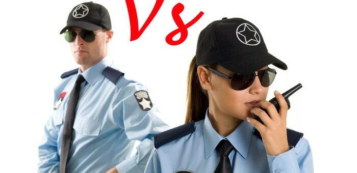 Физическая охрана. Мужчина или женщина?